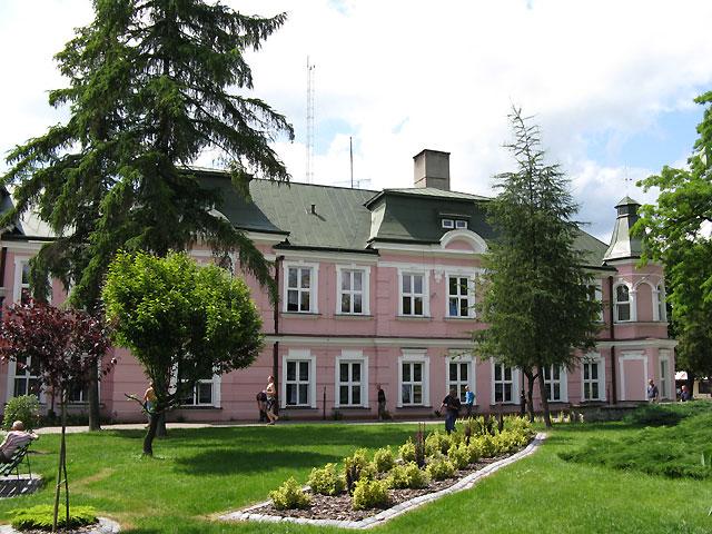 Pałac w Rudzie Różanieckiej