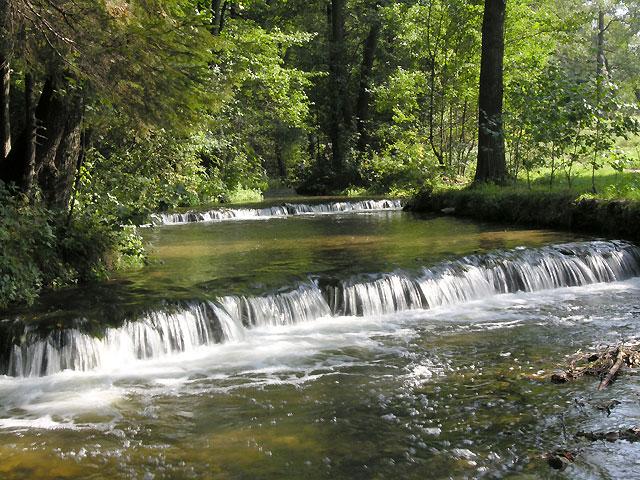 dwa wodospady