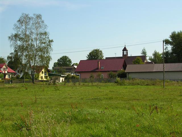 widok kościoła w Oseredku