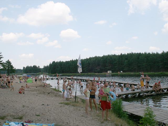 zalew w Majdanie Sop.