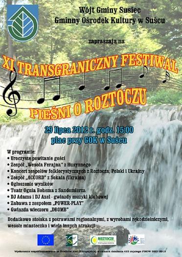 XI Transgraniczny Festiwal Pieśni O Roztoczu